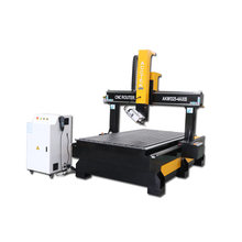 1325 cnc router 4 axis 5 axis cnc machine price foam wood carving machine 3D cnc(China)