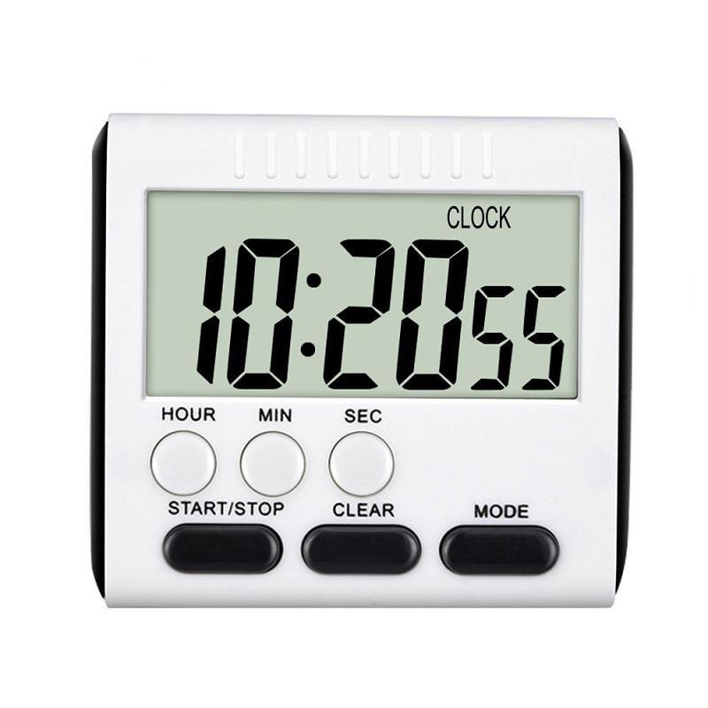 Многофункциональные цифровые кухонные часы с ЖК-дисплеем и таймером для приготовления пищи часы с отсчетом магнитные часы-напоминания Маг...