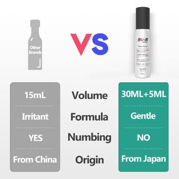 30ML+5ML Sex Delay Spray for Men Non-Numbing Male Delay Ejaculation Sex Spray Man Prolong Sprays Penis Premature Ejaculation 3
