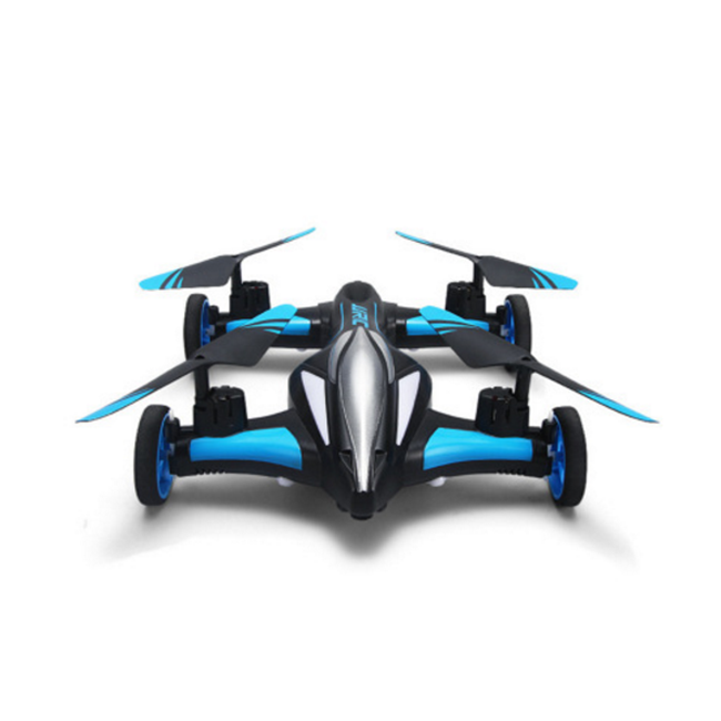 Remote control aircraft four-axis land and air dual-mode aircraft one-button returning pattern rolling remote control drone