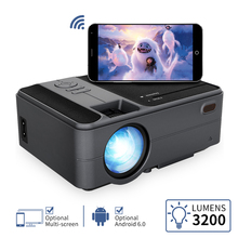 Portable Projector Smart Bluetooth Home Theater Wireless LCD Wifi Mini HDMI Android LED