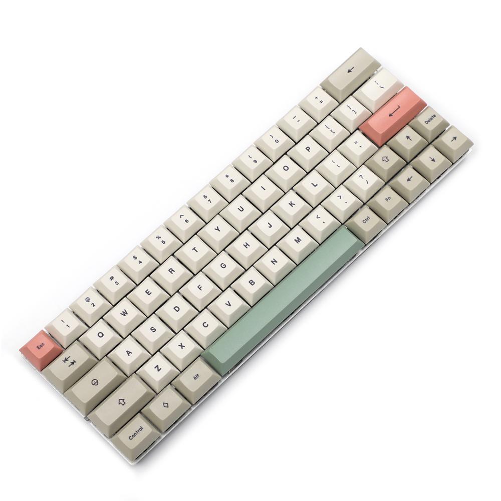 Image 3 - YMDK DSA профиль 9009 краситель Sub 61 64 68 ANSI набор ключей толстый PBT набор ключей для MX механическая клавиатура GH60 XD64 GK64 Tada68Клавиатуры   -