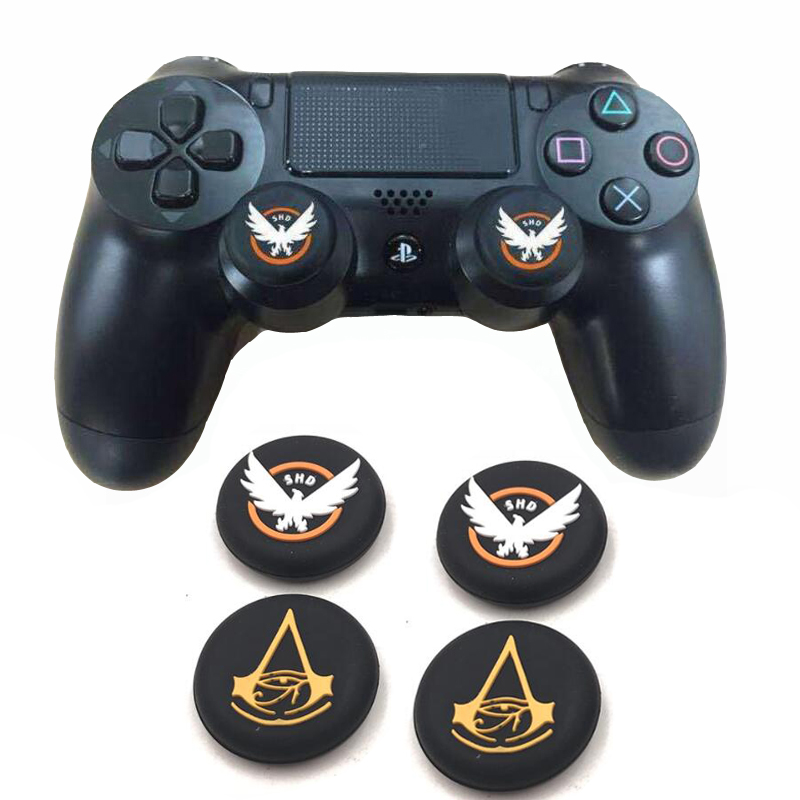 SHD Assassins Creed Thumb Stick Grip Cap Thumbstick Joystick Cover Case For Sony PS3 PS4 Slim Xbox One 360 Switch Pro Controller