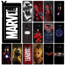 Yinuoda Deadpool Iron Man Marvel Avengers Phone Case untuk Samsung Galaxy Note7 8 9 5 10 Pro A50 J5 J6 prime J7(China)