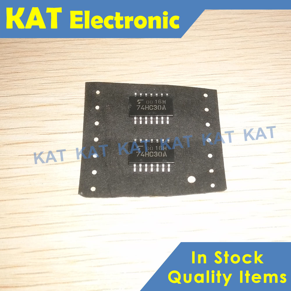 5PCS/Lot TC74HC30AF 74HC30A SOP-14 8-INPUT NAND GATE CMOS DIGITAL INTEGRATED CIRCUIT SILICON MONOLITHIC
