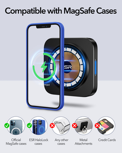 Image 2 - ESR HaloLock מגנטי אלחוטי מטען לרכב הר עבור iPhone 12 פרו מקסימום מהיר טעינה אלחוטי מטען לרכב טלפון מחזיק אוויר vent