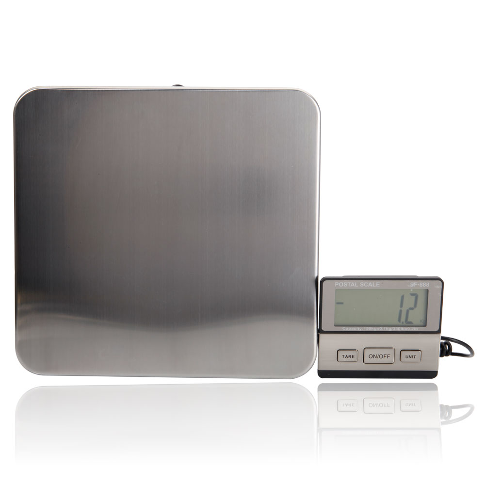 New Postal <font><b>Scale</b></font> Heavy Duty Electronic Balance Floor Bench Weight Commercial <font><b>Scales</b></font> <font><b>Digital</b></font> Platform <font><b>Scales</b></font> <font><b>200KG</b></font> US Stock image