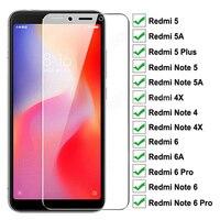 999D Gehärtetem Glas Auf Für Xiaomi Redmi Hinweis 4 4X 5 5A 6 Pro Screen Protector Redmi 6 Pro 5 plus 6A 5A 4X S2 GEHEN Schutzhülle Film