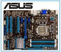 ASUS P8Z77 V LX LGA 1155 DDR3 i3 i5 22/32nm CPU USB3.0 32GB SATA3 VGA HDMI Z77 pulpit używane płyty głównej w Płyty główne od Komputer i biuro na