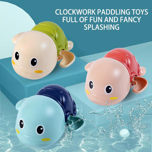Kids Toys Bath-Toy Tortoise Clockwork Animal Swim-Turtle Baby Children Chain Cartoon