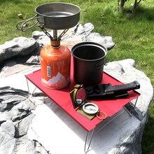Портативный складной стол Кемпинг Открытый Пикник 6061 алюминиевый сплав ультра-светильник