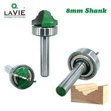 לביא 1pc 8mm Shank שוק נושאות זוגי הרומי Ogee חתוך נתב כרסום קאטר לעץ עץ קו סכין Hobbing MC02100