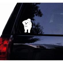 5in Tshirt Rocket Maltese Dog Decal Sticker Cute White Maltese Puppy Dog Vinyl Car Decal Laptop Decal  Car Window Wall Sticker 3 sizes outdoor sports go fishing white perch car sticker window fish tank decal vinyl tape h8100