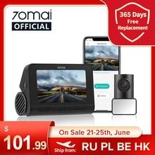 ALIKPLATI455 Видеорегистратор 70mai A800S, камера для приборной панели, 4K, с GPS, ADAS, 24 часовым мониторингом парковки, поле зрения 140