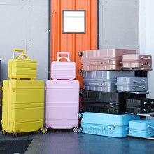 Дорожный чемодан на колесиках 20 дюймов тележка для кабины комплект