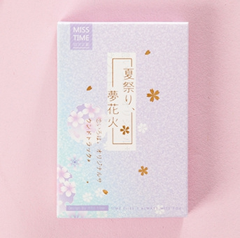 52mm*80mm Summer Holiday Paper Greeting Card Lomo Card(1pack=28pieces)