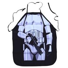 Вечерние, забавные фартуки Дарта Вейдера из Звездных войн, фартук белого воина, фартук для приготовления пищи, вечерние фартуки