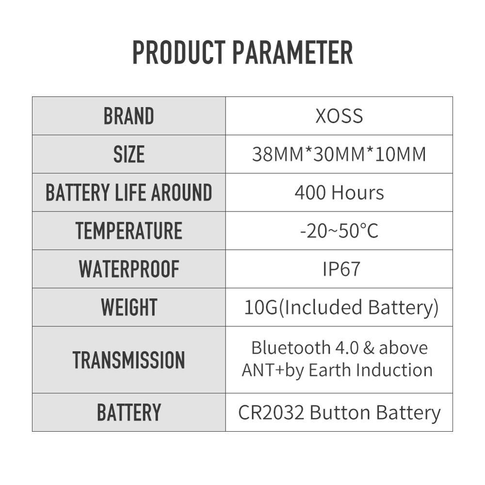 Image 5 - XOSS Cycling Computer Speedometer Speed and Cadence Dual Sensor ANT+ Bluetooth Road Bike MTB Sensor for GARMIN iGPSPORT brytonwireless cycle computercycling computerbike computer -