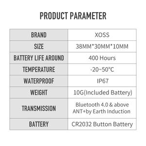 Image 5 - XOSS ordenador para bicicleta velocímetro con Sensor Dual de cadencia y velocidad, ANT +, Bluetooth, para GARMIN iGPSPORT bryton