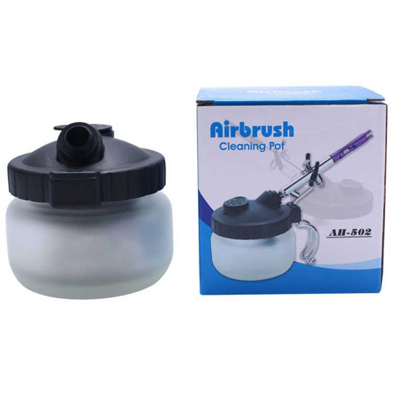 Spray Wash Cleaning Pot Airbrush Cleaning Air Brush Model Bottle New Model Pot Cleaning Tool Waste Collection Bottle