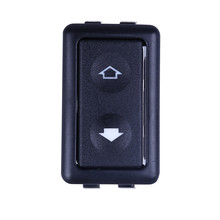 Window switch Universal 6Pin 10A-30A 12-24V Button Auto Power Controller Car Electric Window Switch Black Fashion Stickers(China)