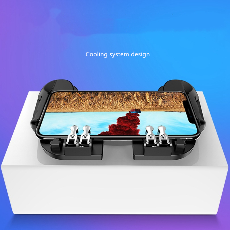 Pubg mobile game controller six finger linkage game controller is suitable for pubg rapid cooling system design