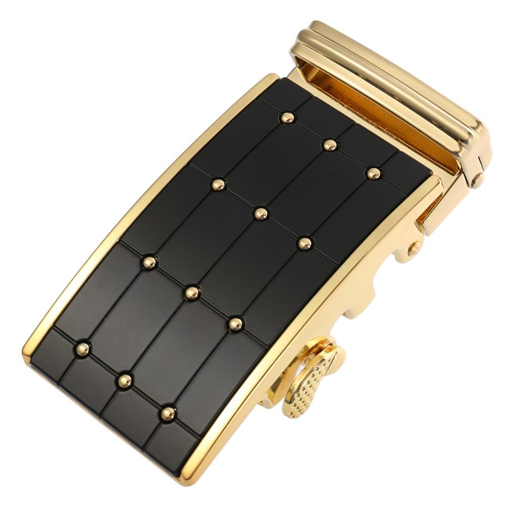 Automatic Belt Buckle For Men Not Contain Body Fashion Casual Suitable For Jeans Width 3.5cm Leather 2020 Waist Tape Accessories