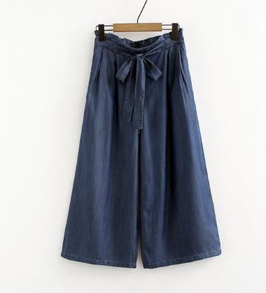 Women High Waist   Wide Leg Pants Fashion Casual Women Trousers Solid Elegant Pockets  Pants 7XL