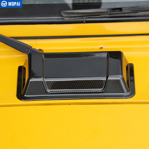 Image 2 - Samochód MOPAI naklejki dla Jeep Wrangler TJ samochód dopływ powietrza kaptur Scoop osłona wentylacyjna Cap osłona przeciwdeszczowa dla Jeep Wrangler TJ JK 1997 2017