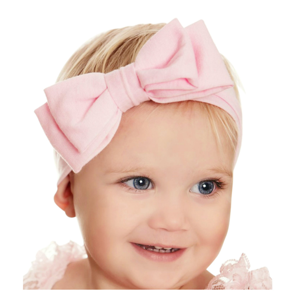 1-3YRS Silk Head Wrap Girls Kid Baby Bow Hairband Headband Turban Collection
