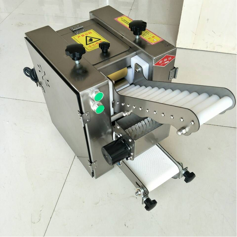 Free Shipping Electric Dumpling Skin Roti Maker/dumpling Wrapper Making Machine/wonton Sheet Making Machine With No Waste