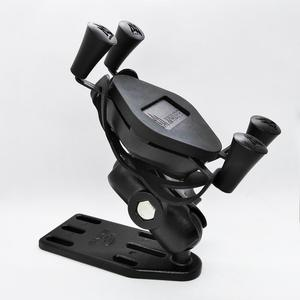 Image 1 - Universal Motorcycle Scooter Aluminum Brake/Clutch Reservoir Cell Phone Mount Holder Stand for 4 5.5 inch Smart Phones and GPS