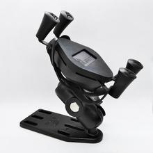 Universal รถจักรยานยนต์สกู๊ตเตอร์อลูมิเนียมเบรค/คลัตช์โทรศัพท์มือถือผู้ถือ Mount สำหรับ 4 5.5 นิ้วโทรศัพท์สมาร์ทและ GPS