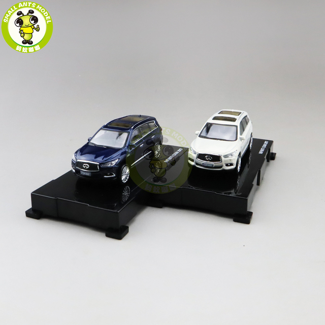1/64 qx60 2017 diecast modelo carro suv, brinquedos, meninos, meninas, presentes