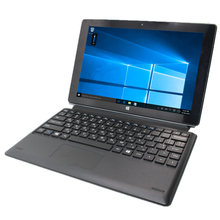 Grande desconto 2gb + 64g 10.1 Polegada windows 8 quad core 1280x800 ips tela câmera dupla wifi bluetooth com teclado(China)