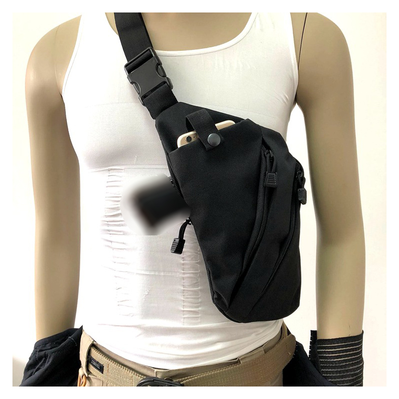 Multi-functional Tactical Storage Gun Bag Travel Bag, Anti-theft Shoulder Bag, Cross-body Casual Sports Belt Safety Belt, Digita