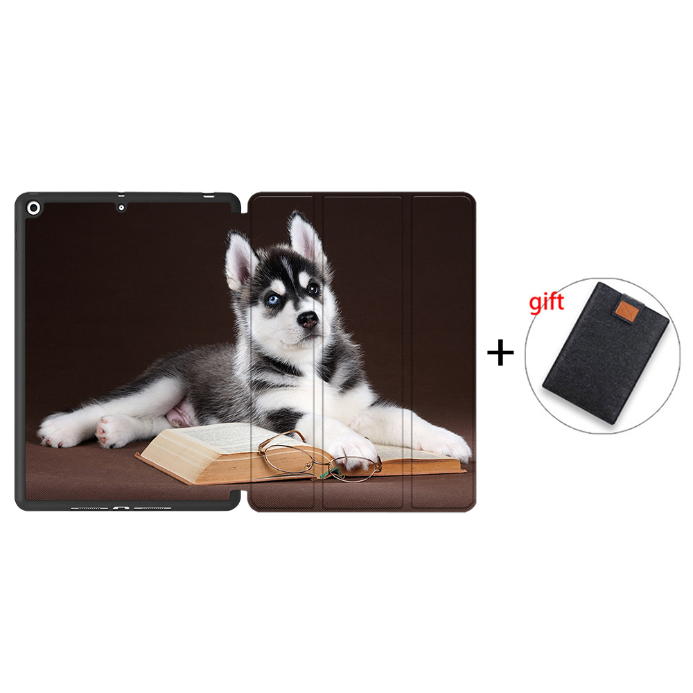 IPBC04 Green MTT Tablet Case For iPad 10 2 7th 8th Generation 2020 TPU Back PU Leather Flip