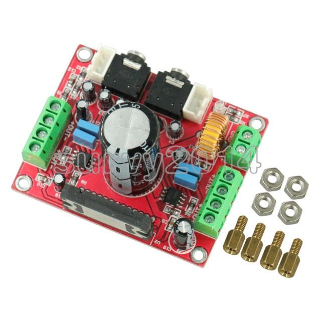 XH M150 TDA7850 4*50W Car Audio Power Amplifier Module with BA3121 Noise Reduction Module Amplifier Board DC 12V