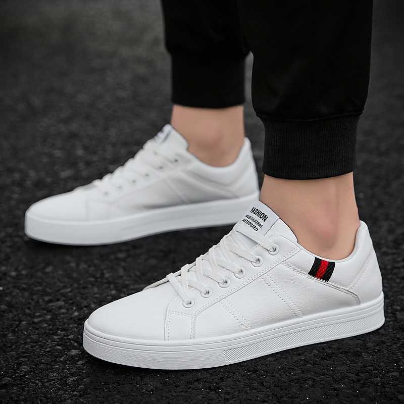 UNN Classic Designer mężczyźni obuwie moda Sneakers skóra miękka guma płaskie buty męskie buty białe męskie buty obuwie