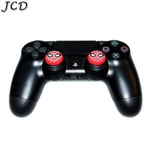Image 4 - JCD 2PCS אגודל מקל אחיזת כובע Thumbstick ג ויסטיק כיסוי מקרה עבור Sony PS3 PS4 פרו Slim PS5 Xbox אחד 360 מתג פרו בקר