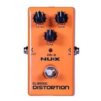 Nux Little Angel DS 3 Classic Distortion Sounds Electric Guitar Simulation Metal Rock And Roll Distortion Stompbox