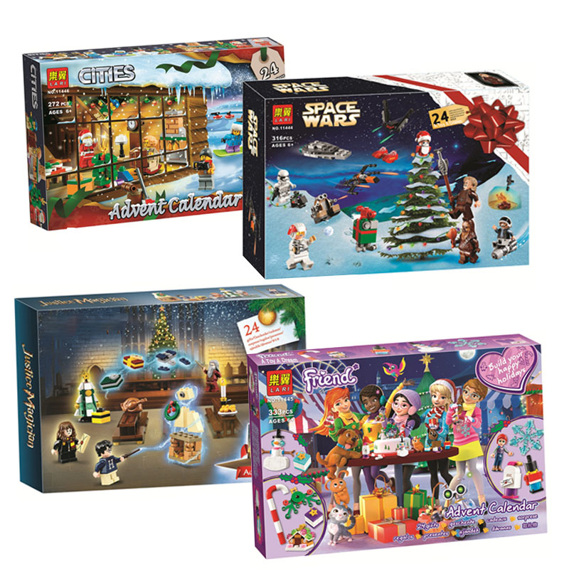 Star Wars City Advent Calendar Girl Friends Legoinglys Girl Friends Building Block Bricks Toys Christmas Gift 75964 75245 41353