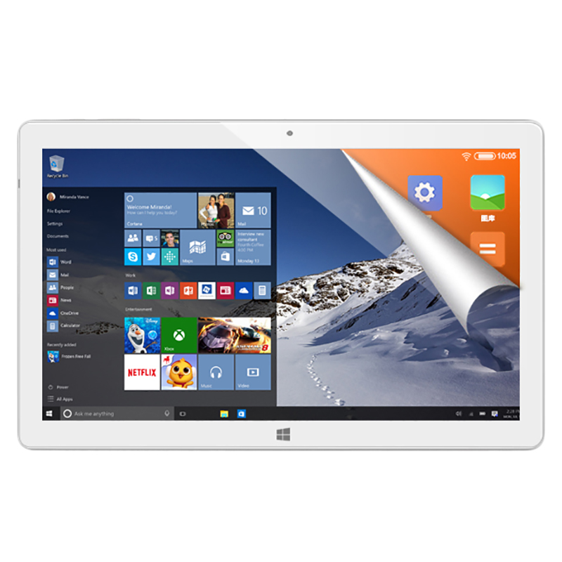 HOT-Alldocube Iwork10 Pro 10.1 Inch Ips 1920X1200 Tablet Pc Intel Atom X5 Z8350 1.44Ghz Win10 Android 5.1 Dual Boot Quad Core 4G