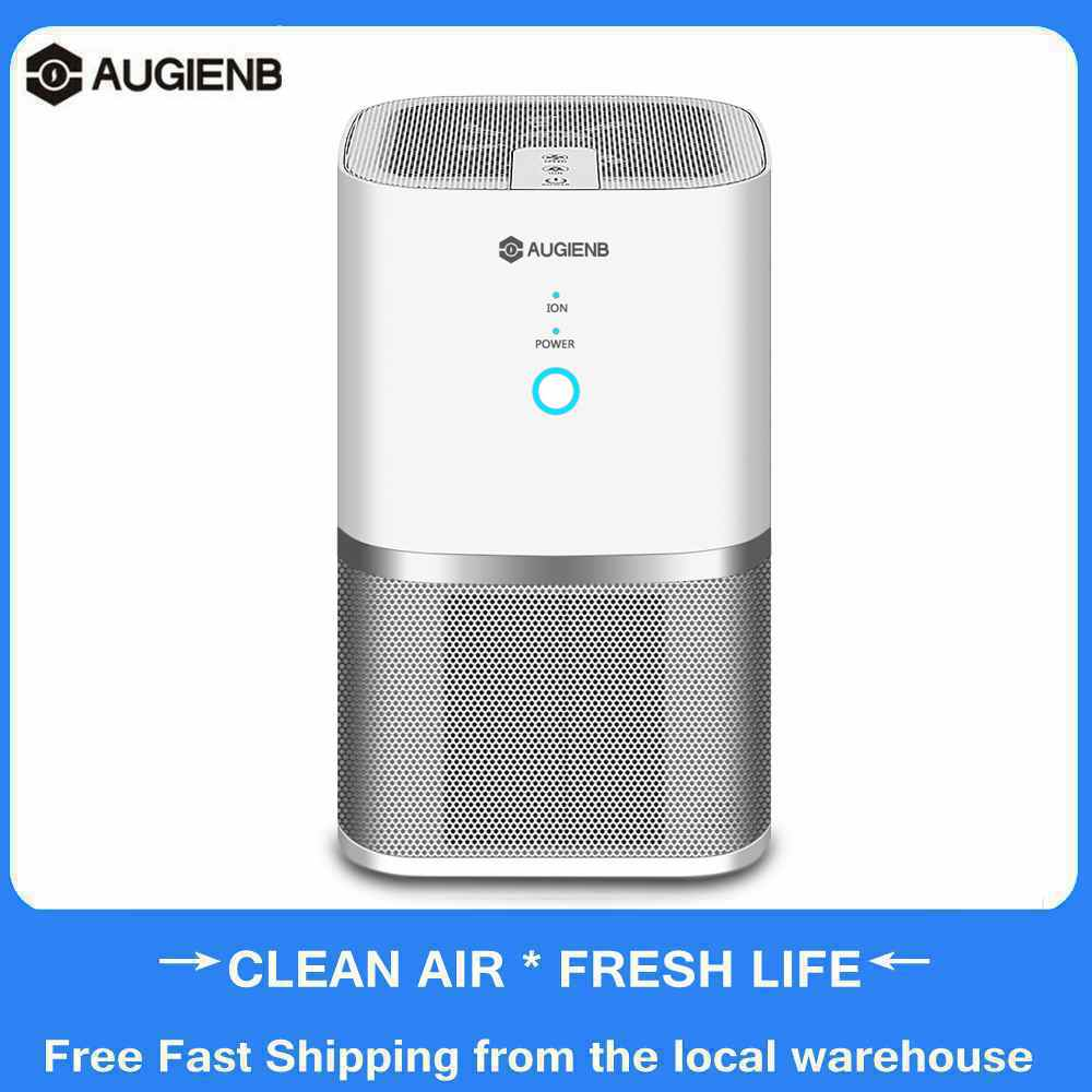AUGIENB Air Purifier With True HEPA Filter Sterilizer Remove Formaldehyde Air Wash Cleaning Household For Smoke Dust Air Cleaner