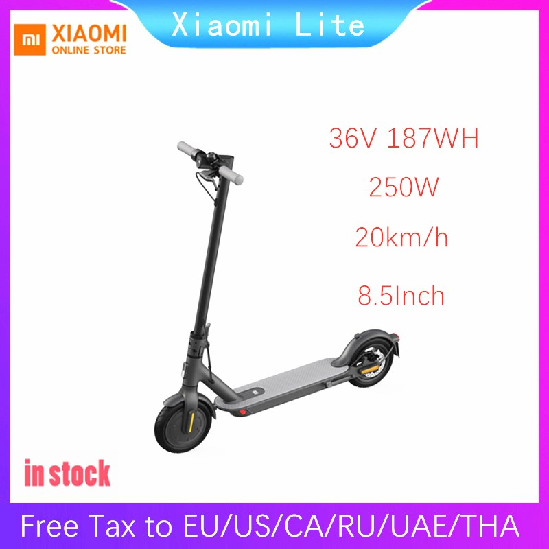 Original Xiaomi Mijia M365 Smart Electric Scooter foldable mi lightweight long board hoverboard skateboard 30KM mileage with APP