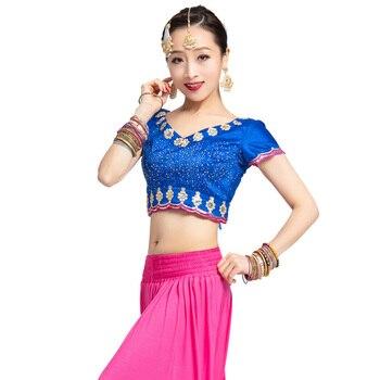 الساري الهندي كورتا للنساء في الهند ساري رائعة الرقص الشرقي زي الكبار ساري باكستان اللباس الهندي الحرة 1