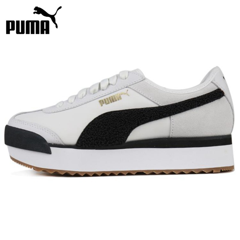 Original New Arrival  PUMA Roma Amor Heritage Women's  Skateboarding Shoes Sneakers
