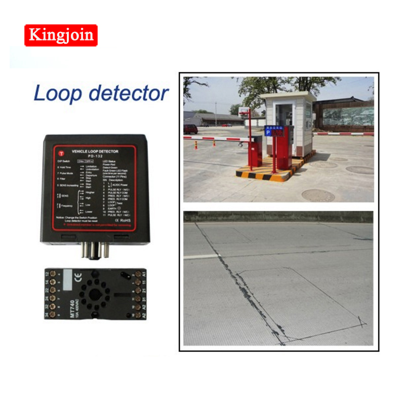 Parking Obstacle Door Loop Detector Magnetic Vehicle Loop Detector For Parking Obstacle Control, Automatic Doors And Gates
