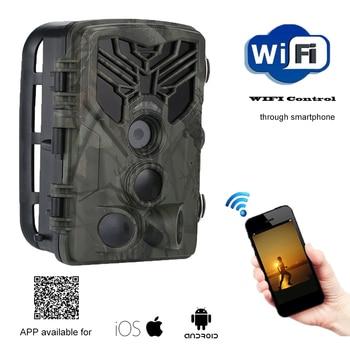 Live Show Wild Trail Camera  Wifi APP Bluetooth Control Hunting Cameras Wifi830 20MP 1080P Night Vision Wildlife  Photo Traps 4