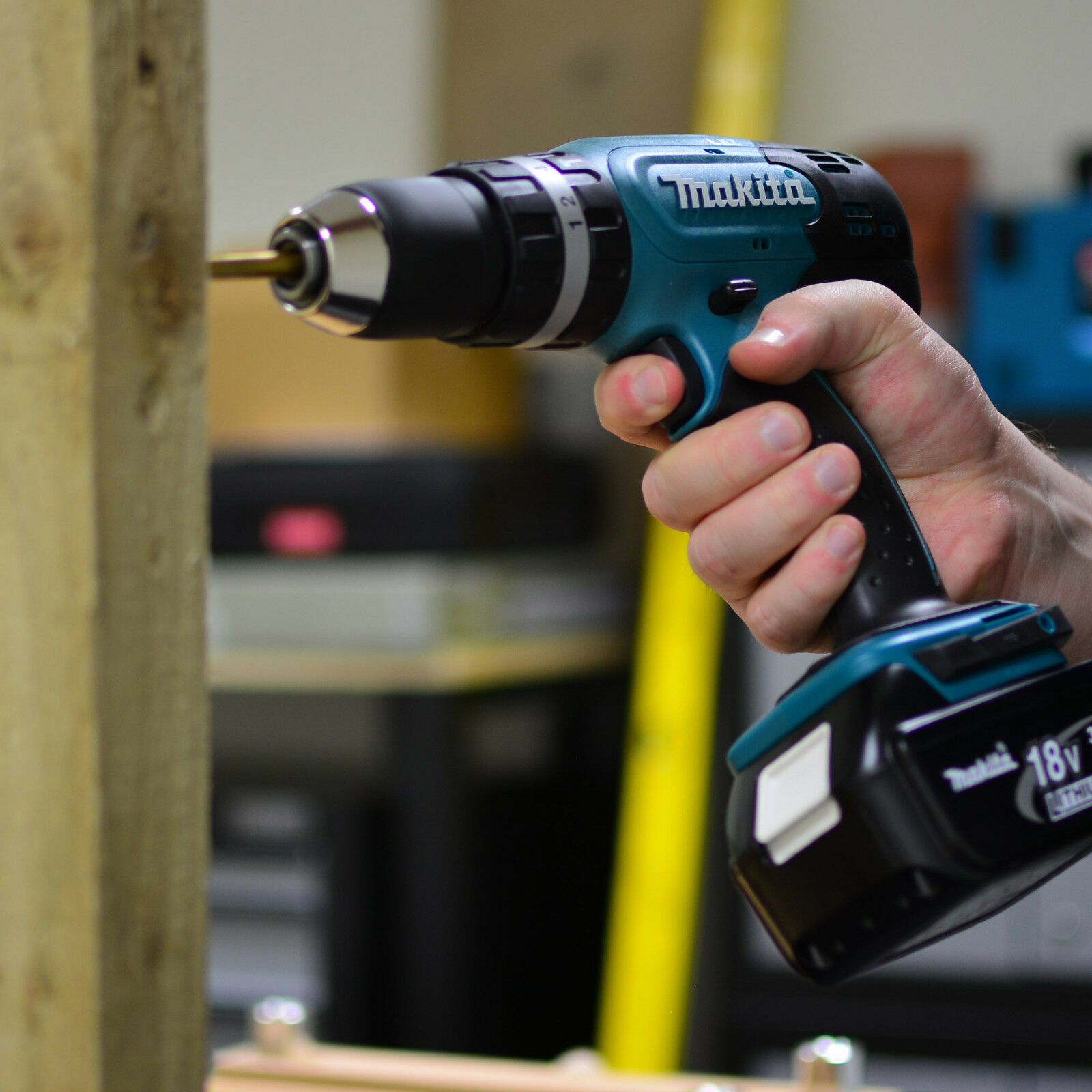 Tools : MAKITA DHP453Z DHP453  18V LXT Li-Ion Cordless 2 Speed Combi Drill Body Only